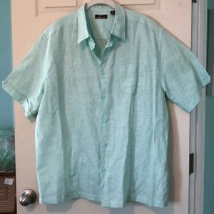 Cafe Luna Linen/cotton mix shirt